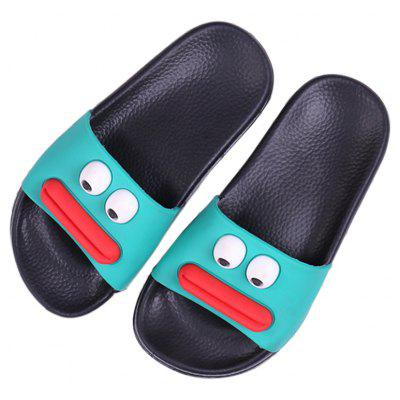 Women Three-Dimensional Cartoon Fashional Skid Resisting Bath Household SlippersSlippers &amp; Flip-Flops<br>Women Three-Dimensional Cartoon Fashional Skid Resisting Bath Household Slippers<br><br>Available Size: 36/37/38/39/40/41<br>Gender: Unisex<br>Heel Type: Flat Heel<br>Insole Material: PVC<br>Outsole Material: PVC<br>Package Contents: 1 x Pair of Slippers<br>Pattern Type: Character<br>Season: Summer<br>Slipper Type: Indoor<br>Style: Novelty<br>Upper Material: PVC<br>Weight: 0.8400kg