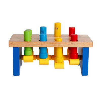 Deluxe Wooden Pounding Bench with Mallet Early Educational Development Toys forOther Educational Toys<br>Deluxe Wooden Pounding Bench with Mallet Early Educational Development Toys for<br><br>Age: 3 Years+<br>Applicable gender: Unisex<br>Design Style: Other<br>Features: Educational<br>Gender: Unisex<br>Material: Wood<br>Package Contents: 1 x Wooden Toy<br>Package size (L x W x H): 26.00 x 15.00 x 15.00 cm / 10.24 x 5.91 x 5.91 inches<br>Package weight: 1.2000 kg<br>Product size (L x W x H): 24.00 x 14.00 x 11.00 cm / 9.45 x 5.51 x 4.33 inches<br>Product weight: 1.1000 kg<br>Small Parts: No<br>Type: Intelligence toys<br>Washing: No