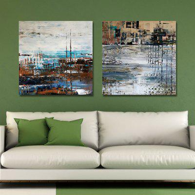 MY43-CX - 268-291 Fashion Abstract Print Art Ready to Hang Paintings 2PCSPrints<br>MY43-CX - 268-291 Fashion Abstract Print Art Ready to Hang Paintings 2PCS<br><br>Brand: DYC<br>Craft: Print<br>Form: Two Panels<br>Material: Canvas<br>Package Contents: 2 x Prints<br>Package size (L x W x H): 32.00 x 32.00 x 3.00 cm / 12.6 x 12.6 x 1.18 inches<br>Package weight: 0.9000 kg<br>Painting: Include Inner Frame<br>Product size (L x W x H): 30.00 x 30.00 x 3.00 cm / 11.81 x 11.81 x 1.18 inches<br>Product weight: 0.5000 kg<br>Shape: Square<br>Style: Fashion, Creative, Abstract, Novelty<br>Subjects: Abstract<br>Suitable Space: Living Room,Bedroom,Office,Hotel,Game Room