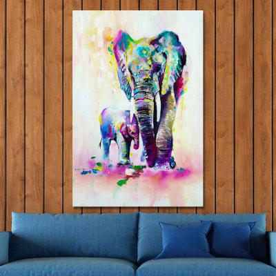MY43-CX - 186 Watercolor Animal Elephants Print ArtPrints<br>MY43-CX - 186 Watercolor Animal Elephants Print Art<br><br>Brand: DYC<br>Craft: Print<br>Form: One Panel<br>Material: Canvas<br>Package Contents: 1 x Prints<br>Package size (L x W x H): 45.00 x 6.00 x 6.00 cm / 17.72 x 2.36 x 2.36 inches<br>Package weight: 0.2000 kg<br>Painting: Without Inner Frame<br>Product size (L x W x H): 40.00 x 60.00 x 1.00 cm / 15.75 x 23.62 x 0.39 inches<br>Product weight: 0.1200 kg<br>Shape: Vertical<br>Style: Creative, Cartoon<br>Subjects: Cartoon<br>Suitable Space: Garden,Living Room,Bedroom,Hotel,Kids Room,Study Room / Office,Boys Room,Girls Room,Game Room