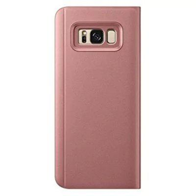 Translucent View Mirror Flip Electroplate Stand Case for Samsung Galaxy S8Samsung S Series<br>Translucent View Mirror Flip Electroplate Stand Case for Samsung Galaxy S8<br><br>Features: Full Body Cases, Cases with Stand, With Mirror<br>For: Samsung Mobile Phone<br>Material: Plastic, PC<br>Package Contents: 1 x Case<br>Package size (L x W x H): 9.00 x 7.00 x 2.50 cm / 3.54 x 2.76 x 0.98 inches<br>Package weight: 0.0290 kg<br>Product size (L x W x H): 8.00 x 6.00 x 1.50 cm / 3.15 x 2.36 x 0.59 inches<br>Product weight: 0.0200 kg<br>Style: Fashion, Novelty