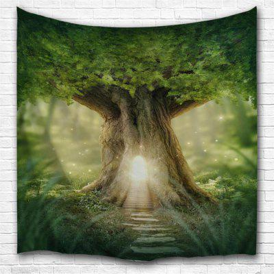 The Door of The Forest 3D Printing Home Wall Tapestry for Decoration