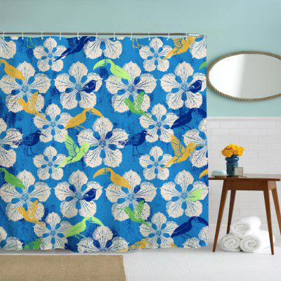 Ink Petals Water-Proof Polyester 3D Printing Bathroom Shower CurtainOther Bathroom Accessories<br>Ink Petals Water-Proof Polyester 3D Printing Bathroom Shower Curtain<br><br>Package Contents: 1 x Shower Curtain , 1 x Set of Hooks<br>Package size (L x W x H): 26.00 x 18.00 x 3.00 cm / 10.24 x 7.09 x 1.18 inches<br>Package weight: 0.4500 kg<br>Product weight: 0.4500 kg