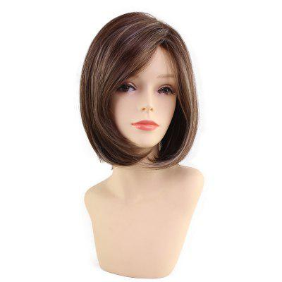New Fashion Bob Style Straight Brown Hair Very Popular Synthetic Wig