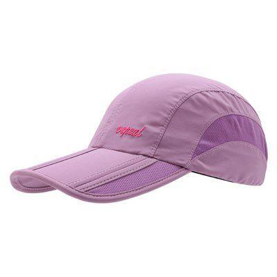 Vepeal Four Fold Anti Ultraviolet Fashion Collection Baseball Cap