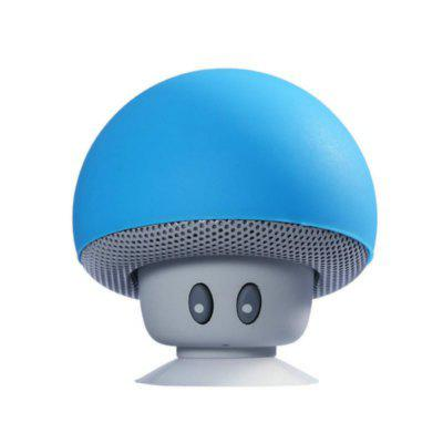 Creative Mushroom Head Bluetooth Speaker Mini Mobile Stand