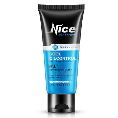 NICE Men's Replenish Water Remove Acne Oil Control Cleansing Milk 100G