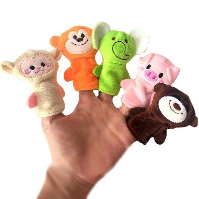 Plush Animals Finger Set Kid Toy 10PCSPuppets<br>Plush Animals Finger Set Kid Toy 10PCS<br><br>Materials: Plush<br>Package Contents: 10 x Finger Puppet<br>Package size: 12.00 x 7.00 x 5.00 cm / 4.72 x 2.76 x 1.97 inches<br>Package weight: 0.0260 kg<br>Product size: 6.50 x 6.90 x 6.90 cm / 2.56 x 2.72 x 2.72 inches<br>Product weight: 0.0200 kg<br>Prototype of Character: Other<br>Series: Entertainment<br>Theme: Animals
