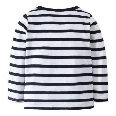 New Children Cute Cartoon Car Cotton Striped Round Neck Long Sleeve ShirtBoys Tops &amp; T-shirts<br>New Children Cute Cartoon Car Cotton Striped Round Neck Long Sleeve Shirt<br><br>Collar: Round Neck<br>Embellishment: Pattern<br>Head Drawstring: Without<br>Material: Cotton<br>Neck Drawstring: Without<br>Package Contents: 1 x Shirt<br>Pattern Type: Striped<br>Sleeve Length: Full<br>Style: Casual<br>Weight: 0.1500kg