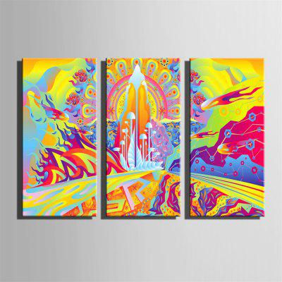 Special Design Frameless Paintings Meteorite Fall Print 3PCSPrints<br>Special Design Frameless Paintings Meteorite Fall Print 3PCS<br><br>Craft: Print<br>Form: Three Panels<br>Material: Canvas<br>Package Contents: 3 x Print<br>Package size (L x W x H): 62.00 x 43.00 x 5.00 cm / 24.41 x 16.93 x 1.97 inches<br>Package weight: 1.9000 kg<br>Painting: Without Inner Frame<br>Product size (L x W x H): 60.00 x 40.00 x 1.50 cm / 23.62 x 15.75 x 0.59 inches<br>Product weight: 1.8000 kg<br>Shape: Vertical<br>Style: Fashion, Hipster, Active, Casual<br>Subjects: Fashion<br>Suitable Space: Indoor,Outdoor,Cafes,Kids Room,Kids Room,Study Room / Office