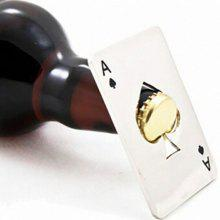 DIHE Playing Card Shape Originality Bar Beer Bottle Opener