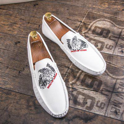 Breathable Loafers Slip on Drive Flats Leisure Shoes Comfort SneakersFlats &amp; Loafers<br>Breathable Loafers Slip on Drive Flats Leisure Shoes Comfort Sneakers<br><br>Available Size: 39-44<br>Closure Type: Slip-On<br>Embellishment: None<br>Gender: For Men<br>Outsole Material: Rubber<br>Package Contents: 1?Shoes(pair)<br>Pattern Type: Solid<br>Season: Summer, Winter, Spring/Fall<br>Toe Shape: Square Toe<br>Toe Style: Closed Toe<br>Upper Material: Leather<br>Weight: 1.2000kg