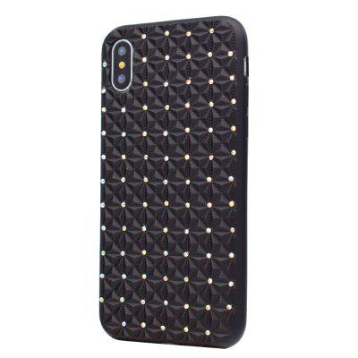TPU Diamond Case for iPhone XiPhone Cases/Covers<br>TPU Diamond Case for iPhone X<br><br>Compatible for Apple: iPhone X<br>Features: Anti-knock<br>Material: TPU<br>Package Contents: 1 x Phone Case<br>Package size (L x W x H): 16.00 x 8.00 x 1.00 cm / 6.3 x 3.15 x 0.39 inches<br>Package weight: 0.0200 kg<br>Product size (L x W x H): 15.00 x 7.50 x 1.00 cm / 5.91 x 2.95 x 0.39 inches<br>Product weight: 0.0200 kg<br>Style: Cool, Diamond Look