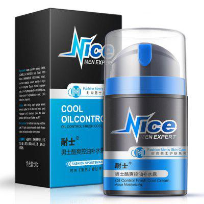 NICE Men's Oil Control Fresh Cool Cream 50G
