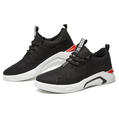 In The Spring of 2018 New Mens ShoesMen's Sneakers<br>In The Spring of 2018 New Mens Shoes<br><br>Available Size: 39/40/41/42/43/44<br>Closure Type: Lace-Up<br>Embellishment: None<br>Gender: For Men<br>Outsole Material: Rubber<br>Package Contents: 1xShoes?pair?<br>Pattern Type: Patchwork<br>Season: Spring/Fall<br>Toe Shape: Round Toe<br>Toe Style: Closed Toe<br>Upper Material: PU<br>Weight: 1.0000kg