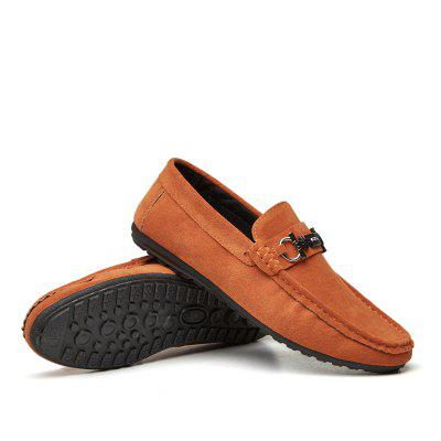 In The Spring of 2018 Mens Shoes Pedal Pedal Lazy Mens Casual Youth ShoesFlats &amp; Loafers<br>In The Spring of 2018 Mens Shoes Pedal Pedal Lazy Mens Casual Youth Shoes<br><br>Available Size: 39/40/41/42/43/44<br>Closure Type: Slip-On<br>Embellishment: None<br>Gender: For Men<br>Outsole Material: Rubber<br>Package Contents: 1xShoes?pair?<br>Pattern Type: Solid<br>Season: Spring/Fall<br>Toe Shape: Round Toe<br>Toe Style: Closed Toe<br>Upper Material: Leather<br>Weight: 1.0000kg