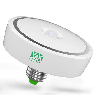 YWXLight E27 12W PIR Motion Sensor Light Bulb Induction Ceiling Lamp Night Light