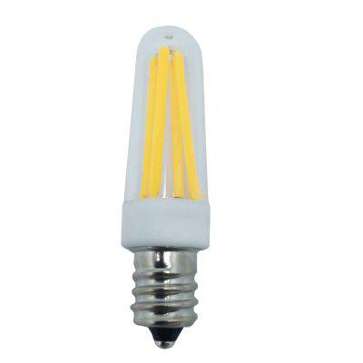 2PCS LED Bulb E12 4LED 3W 110V Dimmable Filament Decoration Home Lighting