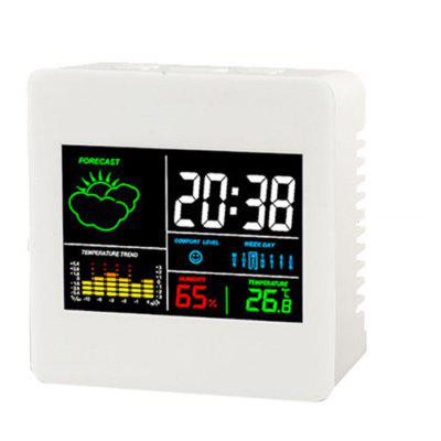 TS - S61 Calendar Clock Temperature / Humidity Meter
