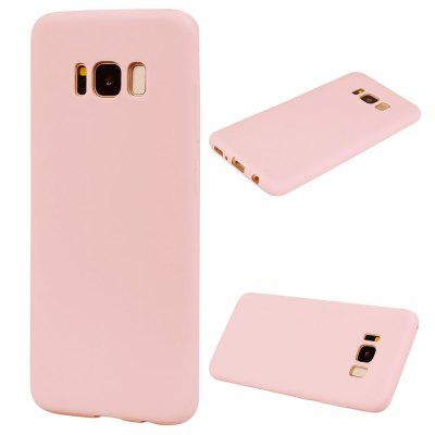 TPU Case for Samsung Galaxy S8 Candy Color Silicone Cover enkay protective tpu back case w holder stand for samsung galaxy note 3 n9000 pink