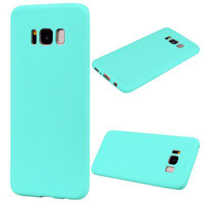 TPU Case for Samsung Galaxy S8 Candy Color Silicone Cover cute 3d girl style protective silicone back case for samsung galaxy note 3 n9000 green