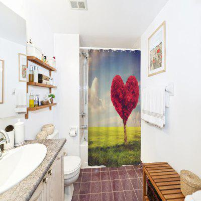 Love Tree Water-Proof Polyester 3D Printing Bathroom Shower CurtainOther Bathroom Accessories<br>Love Tree Water-Proof Polyester 3D Printing Bathroom Shower Curtain<br><br>Package Contents: 1 x Shower Curtain , 1 x Set of Hooks<br>Package size (L x W x H): 26.00 x 18.00 x 3.00 cm / 10.24 x 7.09 x 1.18 inches<br>Package weight: 0.4000 kg<br>Product weight: 0.4000 kg
