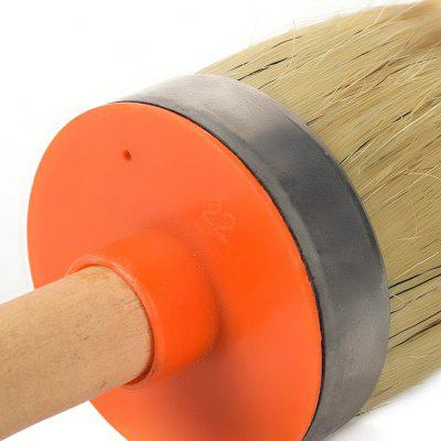 Wooden Handle 70mm Diameter Round Head Mane Oil Paint Wax Car Wash BrushBrushes<br>Wooden Handle 70mm Diameter Round Head Mane Oil Paint Wax Car Wash Brush<br><br>Available Color: Orange<br>Brand: HESSION<br>Materials: Plastic<br>Package Contents: 1 x Round Bristle Brush<br>Package size (L x W x H): 35.00 x 10.00 x 10.00 cm / 13.78 x 3.94 x 3.94 inches<br>Package weight: 0.2500 kg<br>Product size (L x W x H): 28.00 x 7.00 x 7.00 cm / 11.02 x 2.76 x 2.76 inches<br>Product weight: 0.2000 kg<br>Types: Cleaning Brushes