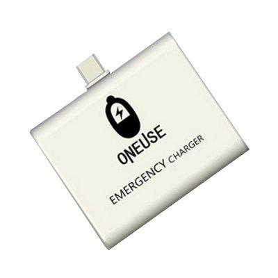 Portable 1000mAh Power Bank for Android Micro USB OneTime Use  Emergency Charger