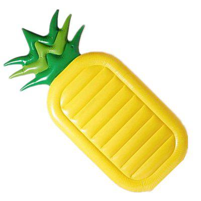 Large Pineapple Bed Inflatable PVC Floating Row for Swim