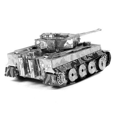 Interesting 3D Metal Tank Model Kit Puzzle
