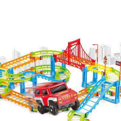 Electric Assembly Color Variable Speed Track ToyOther Educational Toys<br>Electric Assembly Color Variable Speed Track Toy<br><br>Age: 3 Years+<br>Applicable gender: Unisex<br>Design Style: Other<br>Features: Others<br>Gender: Unisex<br>Material: Plastic<br>Package Contents: 1 x Toy<br>Package size (L x W x H): 36.00 x 7.00 x 23.00 cm / 14.17 x 2.76 x 9.06 inches<br>Package weight: 0.2500 kg<br>Product size (L x W x H): 35.00 x 6.00 x 22.00 cm / 13.78 x 2.36 x 8.66 inches<br>Product weight: 0.2110 kg<br>Small Parts: Yes<br>Type: Intelligence toys<br>Washing: No