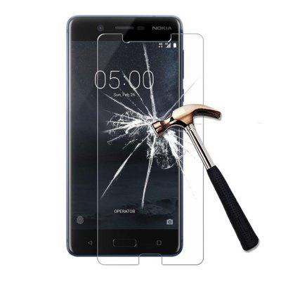2PCS Screen Protector for Nokia 5 High Sensitivity Clear Premium Tempered Glass rocs colorful mirror tempered glass screen protector for iphone 5 5s 5c golden