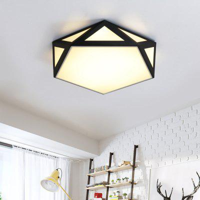 JX7737 - 18W - 3S Three Color Conversion Simple Ceiling Light