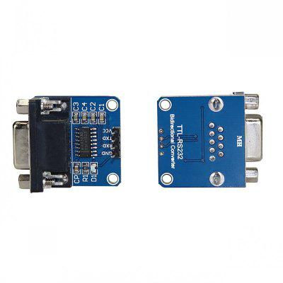MAX232CSE Transfer Chip RS232 to TTL Converter Module COM Serial Board (2Pcs)