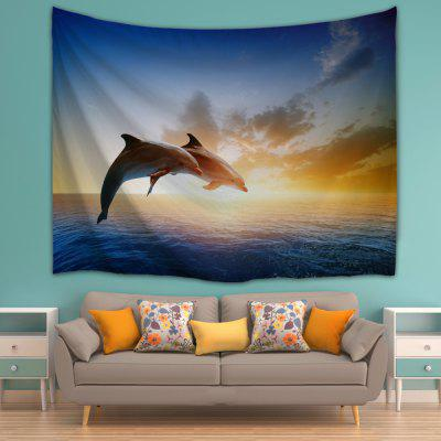 Couples Dolphins 3D Printing Home Wall Hanging Tapestry for DecorationTapestries<br>Couples Dolphins 3D Printing Home Wall Hanging Tapestry for Decoration<br><br>Package Contents: 1xTapestry<br>Package size (L x W x H): 25.00 x 17.00 x 1.00 cm / 9.84 x 6.69 x 0.39 inches<br>Package weight: 0.1900 kg<br>Product size (L x W x H): 1.00 x 1.00 x 1.00 cm / 0.39 x 0.39 x 0.39 inches<br>Product weight: 0.1900 kg<br>Subjects: Animal<br>Usage: Christmas, Birthday, Wedding, Party, Others, New Year