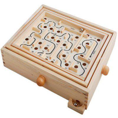 Ball in Maze Handcrafted Puzzle Toy for Kids 27.5CM Length
