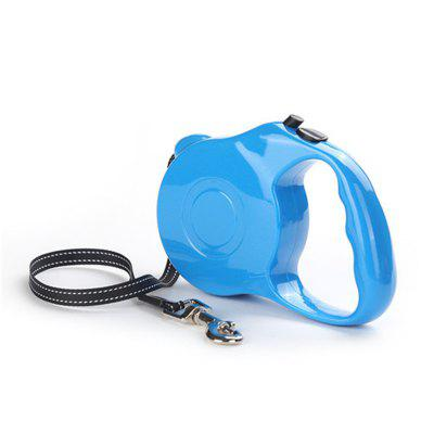 3M One-Handed Lock Retractable Rope Dog Leash Automatic ExtendingDog Carriers<br>3M One-Handed Lock Retractable Rope Dog Leash Automatic Extending<br><br>Color: Black,Red,Blue<br>Material: Nylon, ABS<br>Package Contents: 1 x Dog leash<br>Package size (L x W x H): 13.00 x 9.00 x 4.00 cm / 5.12 x 3.54 x 1.57 inches<br>Package weight: 0.2500 kg<br>Product size (L x W x H): 12.00 x 8.00 x 3.00 cm / 4.72 x 3.15 x 1.18 inches<br>Product weight: 0.2300 kg