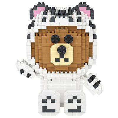 LOZ Big Head Bear with White Tiger Pajamas Mini Blocks ToyBlock Toys<br>LOZ Big Head Bear with White Tiger Pajamas Mini Blocks Toy<br><br>Brand: LOZ<br>Gender: Unisex<br>Materials: ABS<br>Package Contents: 1 x Brick Package , 1 x Illustration (No Words)<br>Package size: 10.50 x 10.50 x 10.50 cm / 4.13 x 4.13 x 4.13 inches<br>Package weight: 0.1900 kg<br>Product size: 10.50 x 7.00 x 10.00 cm / 4.13 x 2.76 x 3.94 inches<br>Product weight: 0.1600 kg<br>Suitable Age: Adults,Kid<br>Theme: Animals,Movie and TV<br>Type: Building