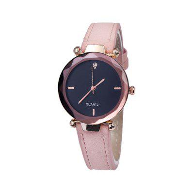 Women  Casual Luxury Quartz Watches Analog  Leather Band Wrist