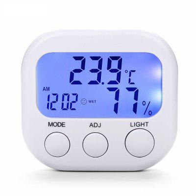 Electronic Temperature  Humidity Meter Mini Band Night Light