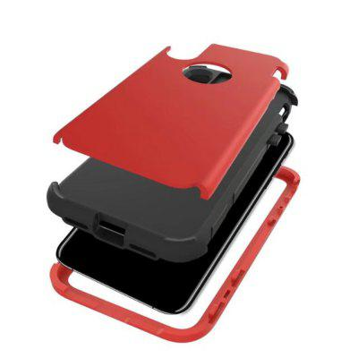 For iPhone X Case Shockproof 3 in 1 Hybrid Hard PC and Soft Silicone Cover case for new ipad 9 7 inch 2017 heavy duty 3 in 1 hybrid rugged durable shockproof for model a1822 alabasta