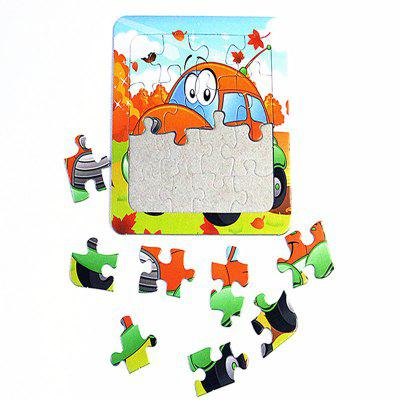 Paper Cartoon Puzzle Children Baby Early Education Toy