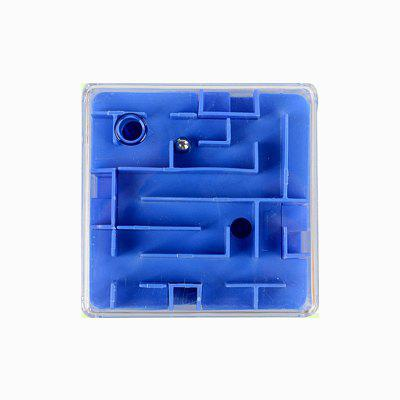 Transparent 3D Maze Marbles Adult Intelligence Decompression Cube dark intelligence