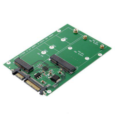 M.2 NGFF / MSATA SSD to SATA3 Laptop SSD Riser Card