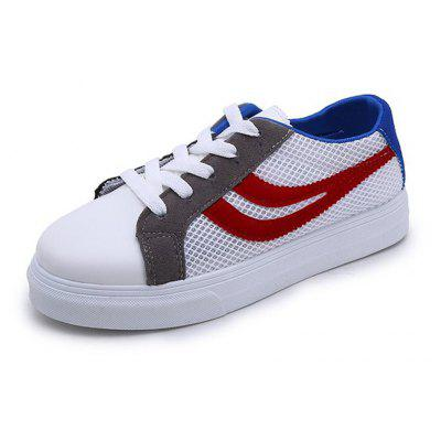 2018 New Fashion Casual All-match Flat Breathable White Shoes