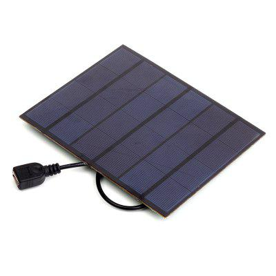 SW3505U 3.5W 6V USB Output Mono Solar Panel Charger for Power Bank