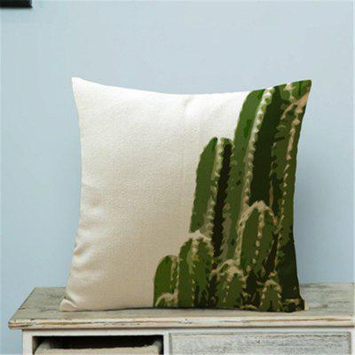Planta Criativa Cacto Household Pillow Cover