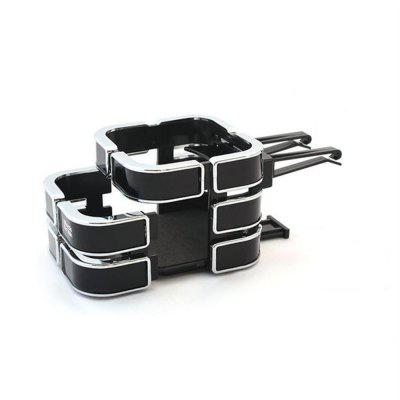 QC13 New Car Dual Air Conditioning Outlet Drink Holder