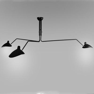 Nordic Long Arm Duck Mouth Shape Ceiling Light for Living Room