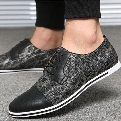 Microfibre Spring Fall Novelty Oxfords Split Joint Mens ShoesCasual Shoes<br>Microfibre Spring Fall Novelty Oxfords Split Joint Mens Shoes<br><br>Available Size: 38-50<br>Closure Type: Lace-Up<br>Embellishment: None<br>Gender: For Men<br>Occasion: Casual<br>Outsole Material: Rubber<br>Package Contents: 1 x Pair of Shoes<br>Pattern Type: Patchwork<br>Season: Summer, Winter, Spring/Fall<br>Toe Shape: Round Toe<br>Toe Style: Closed Toe<br>Upper Material: Microfiber<br>Weight: 2.1000kg